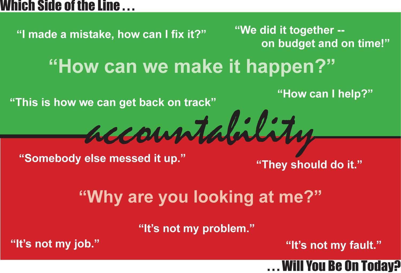 accountability illustration