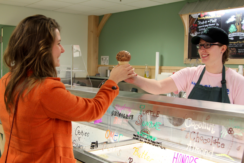 Ice Cream at Dairy Store