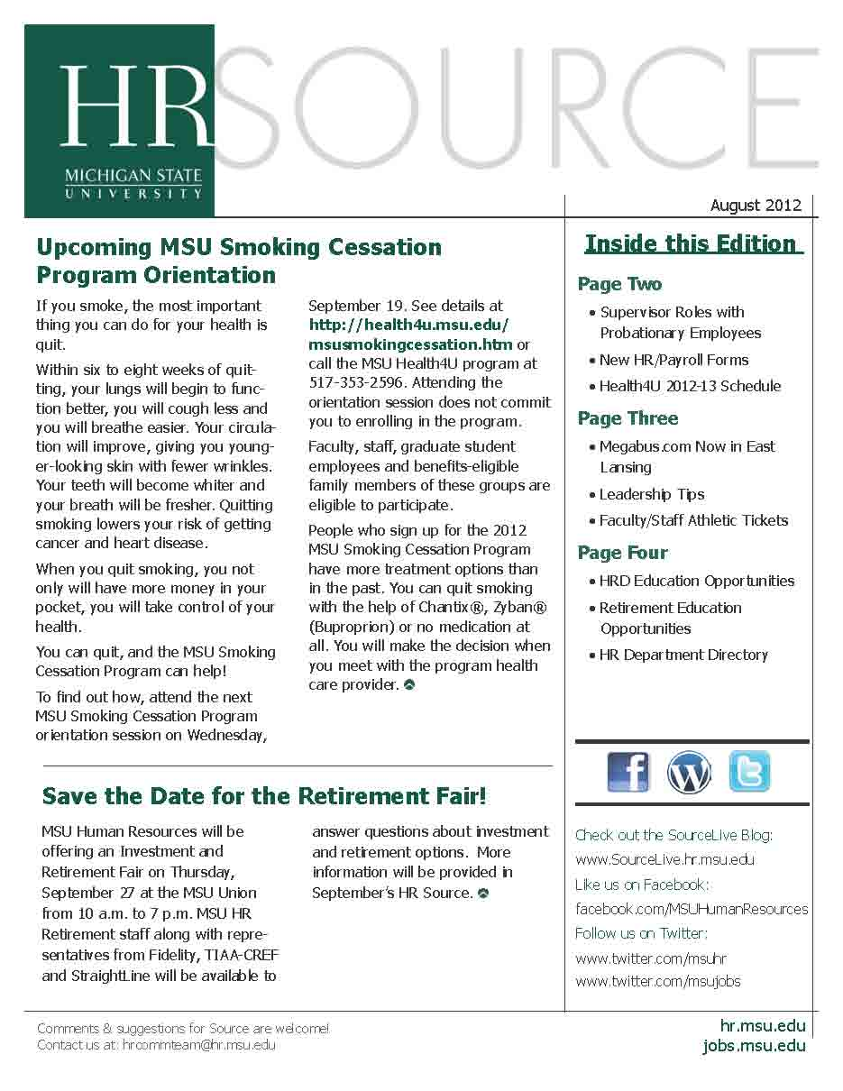HR Source August 2012