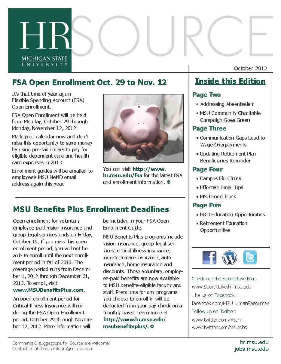 Source October Newsletter Cover