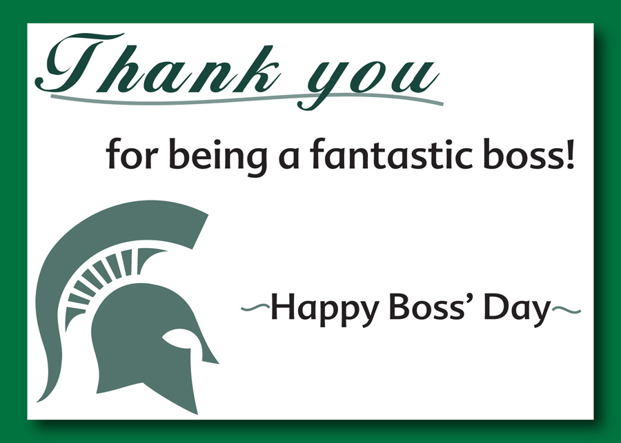 Boss' Day Graphic