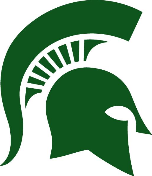 MSU Spartan Helmet