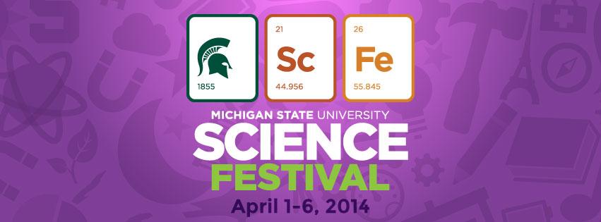 MSU Science Festival Banner