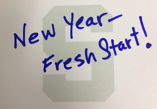 New Year's Resolution Note