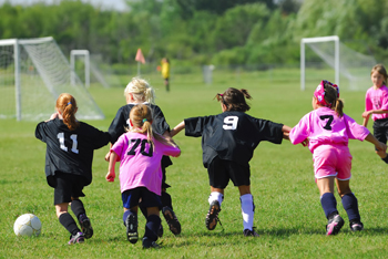Involvement in sports provides many long-term benefits for girls.